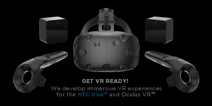 vr oculus vive htc headset development